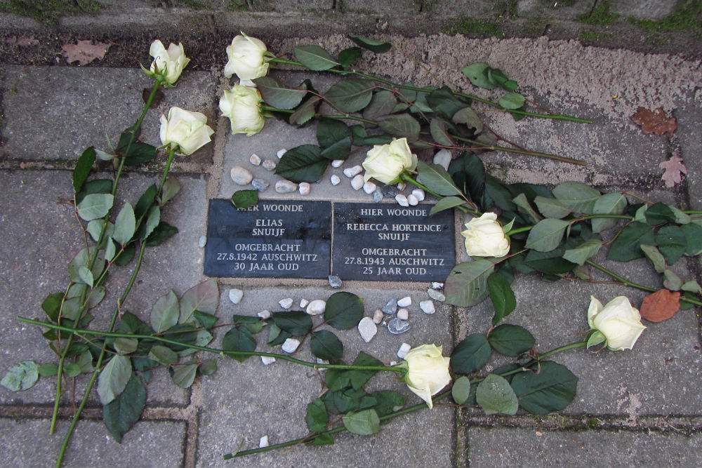Memorial Stones Canadalaan 35