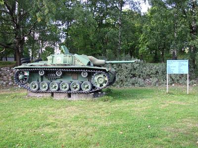 Sturmgeschütz III Ausf G (Stu-40) Lappeenranta