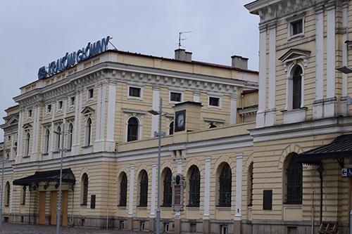 Treinstation Krakow