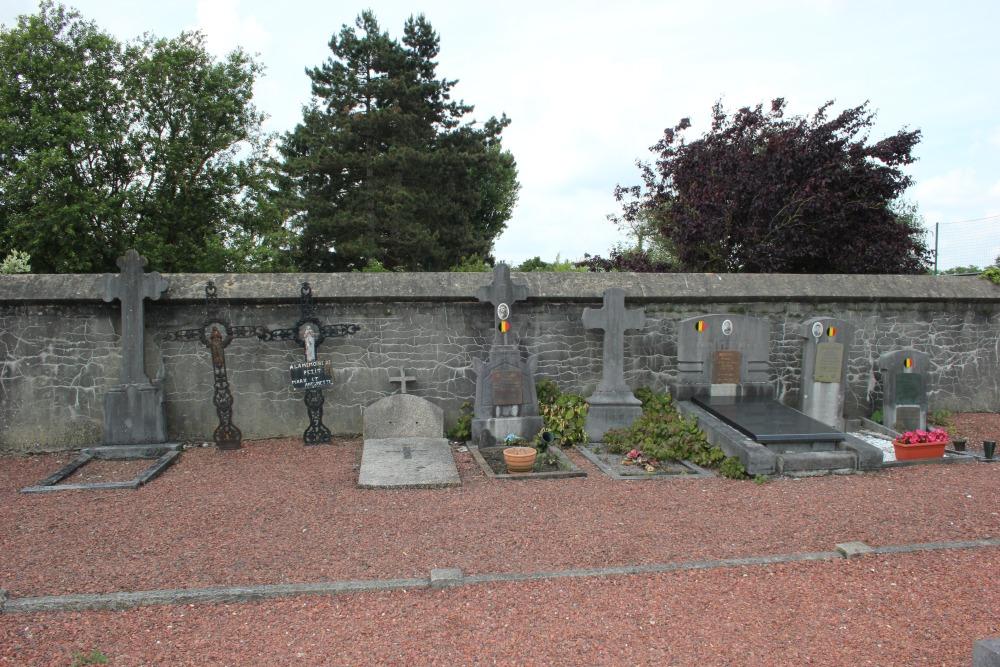 Belgische Oorlogsgraven Braine-l'Alleud