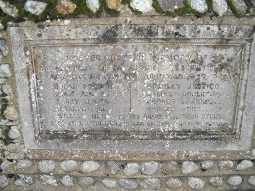 War Memorial Hunston
