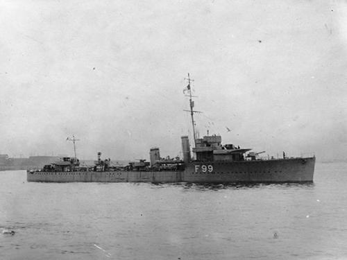 Scheepswrak HMS Valentine (L-69)