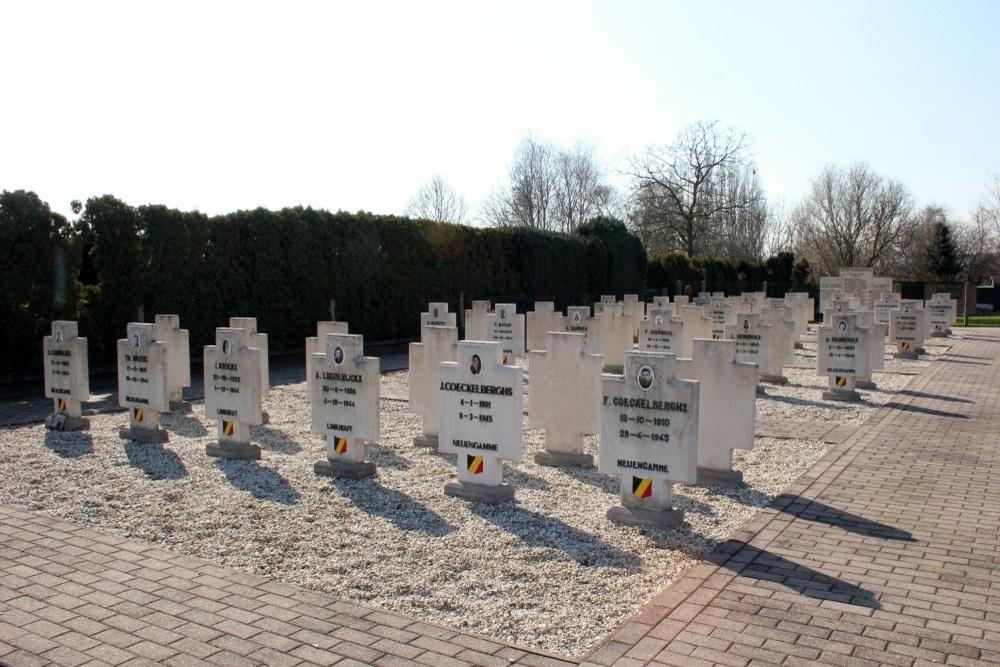 Ereveld Slachtoffers Razzia's Augustus 1944 Meensel