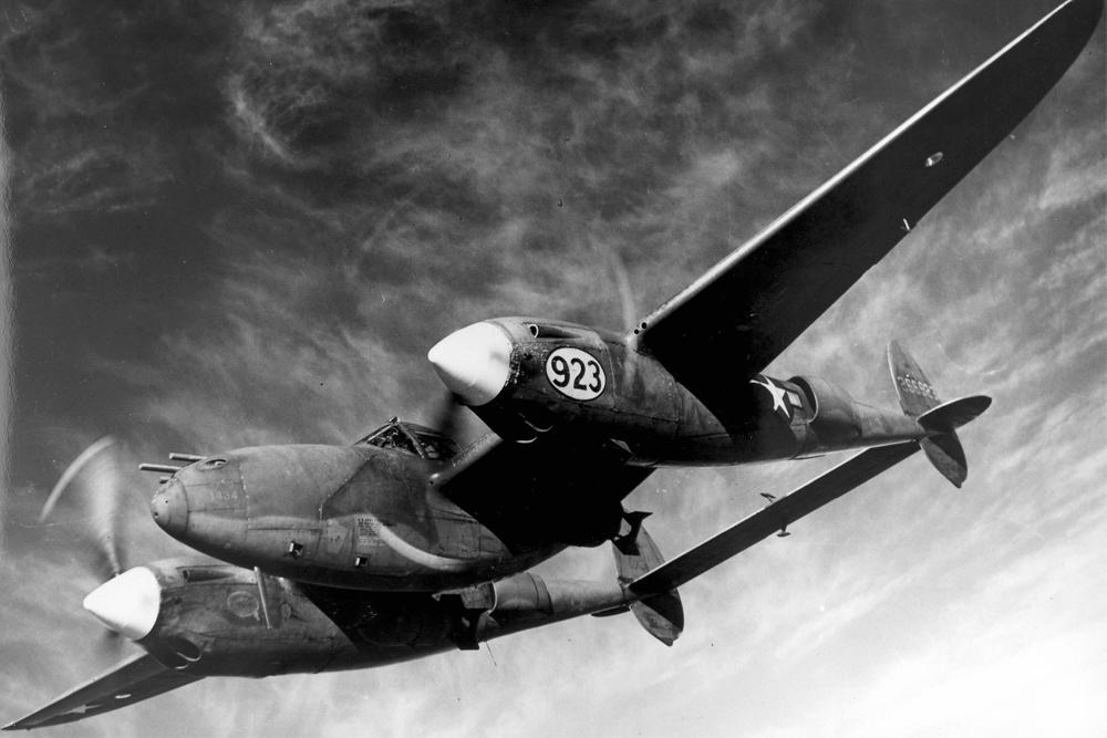 Crashlocatie P-38H-5-LO Lightning 42-66841 Tail Number 153