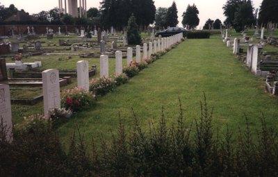 Oorlogsgraven van het Gemenebest Bury Saint Edmunds Cemetery