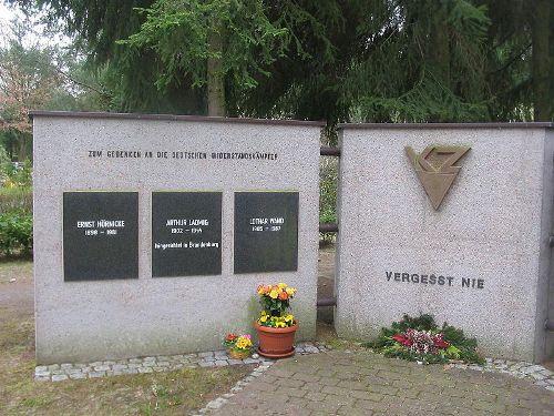 Memorial Resistance Fighters Ludwigsfelde