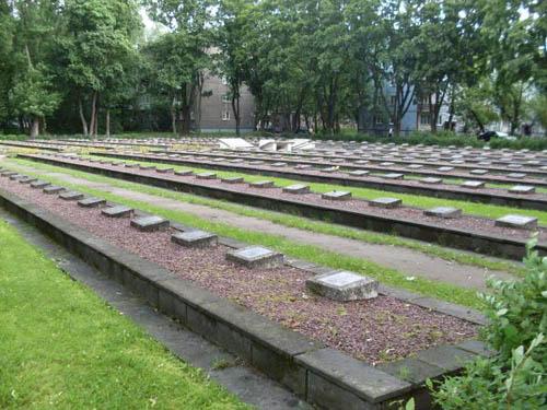Soviet War Cemetery Pskov