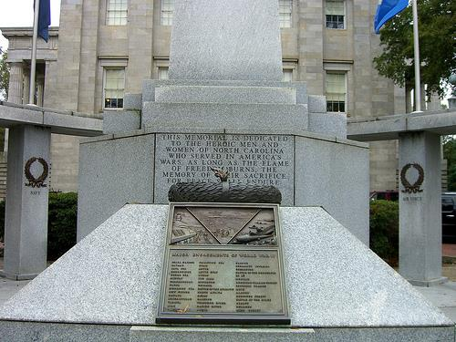 War Memorial North Carolina