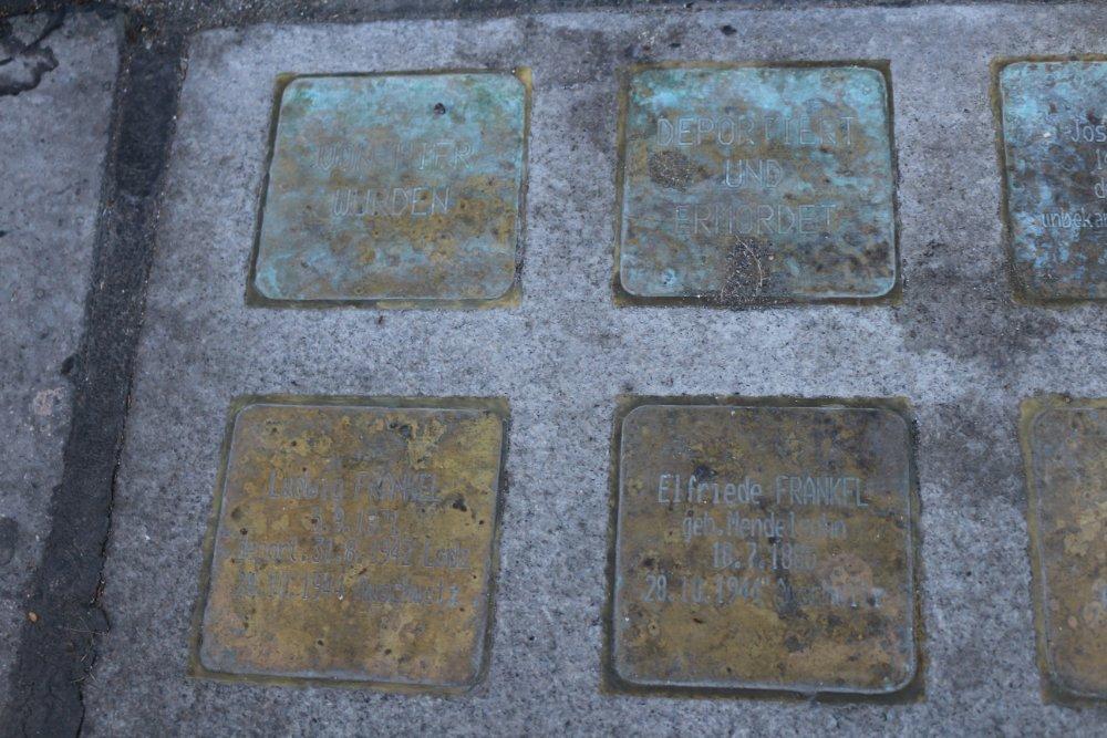 Remembrance Stones Gumpendorfer Straße 18