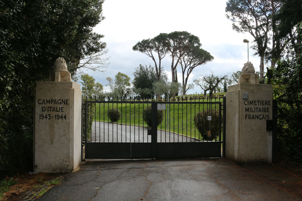 French War Cemetery Rome