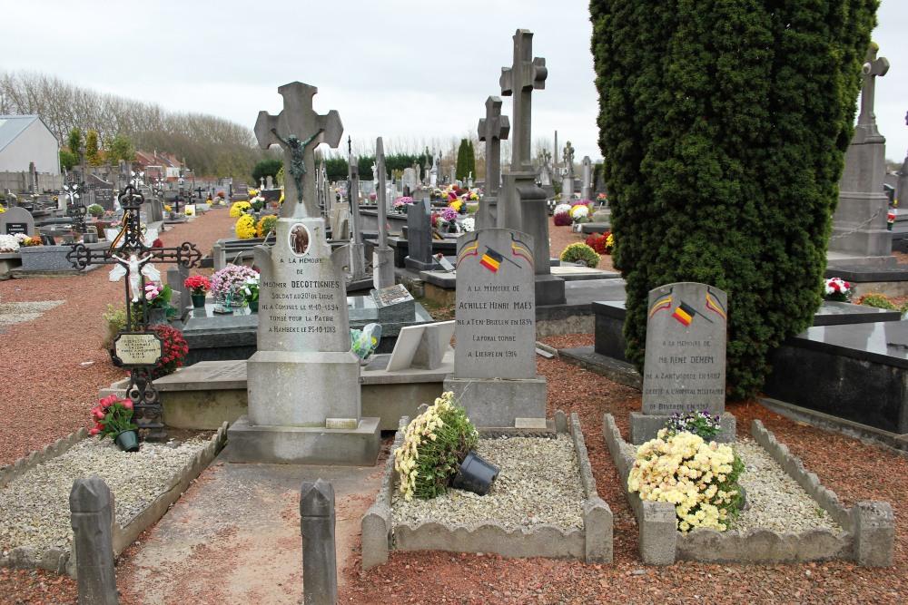 Belgian War Graves Comines
