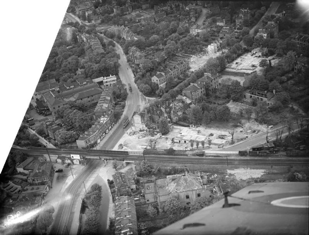 V-1 Impact Site Lewisham Hill