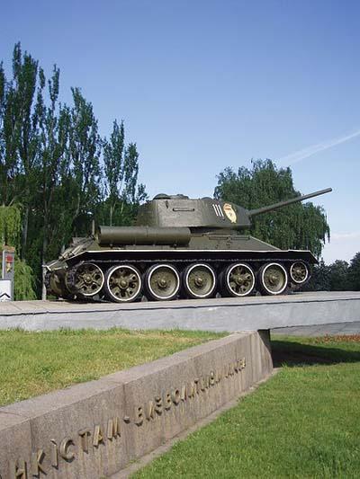 Bevrijdingsmonument (T-34/85 Tank) Kiev