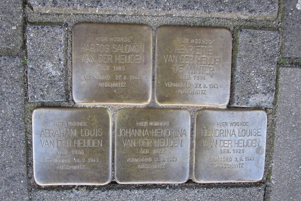 Remembrance Stones Oranje Nassaulaan 4