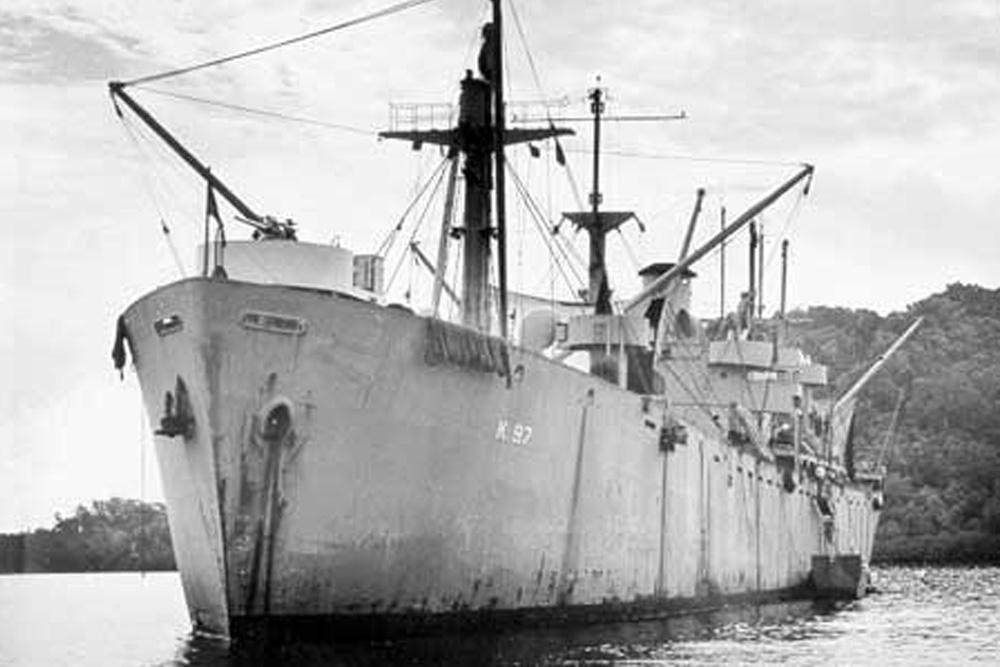 Scheepswrak USS Serpens (AK-97)