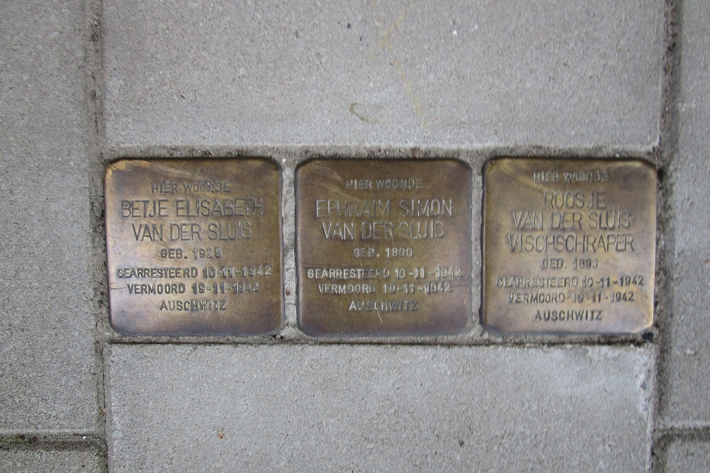 Remembrance Stones Rooseveltlaan 90
