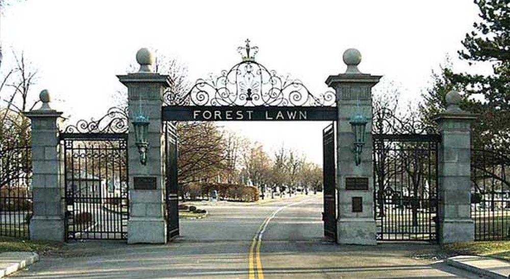 Amerikaanse Oorlogsgraven Forest Lawn Cemetery