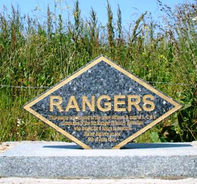 Rangers Memorial Battery de Maisy