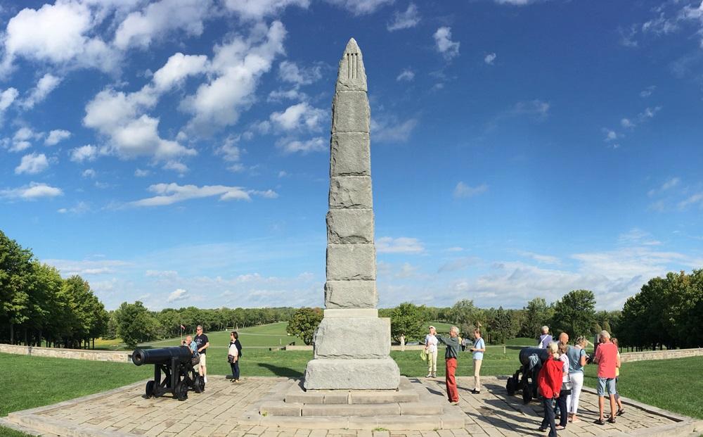 Monument Slag van Crysler's Farm