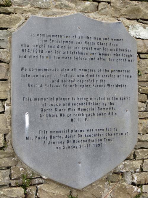 Oorlogsmonument Ennistymon