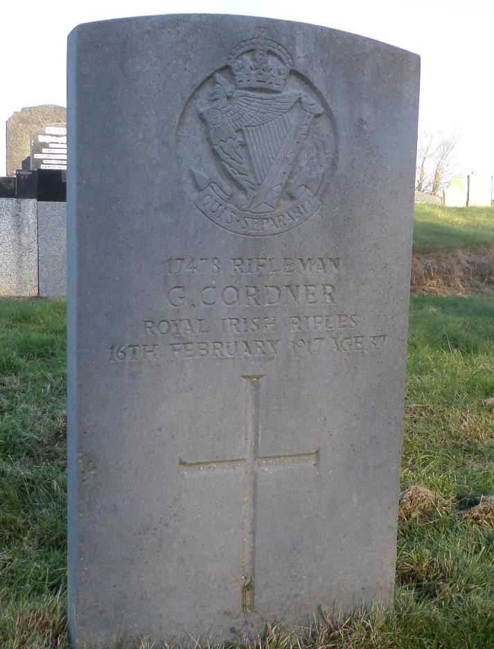 Oorlogsgraven van het Gemenebest Lisburn Cemetery