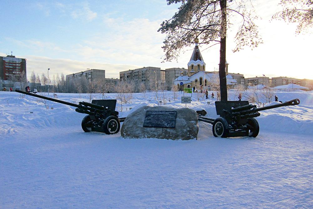 Monument Verdedigers Petrozavodsk