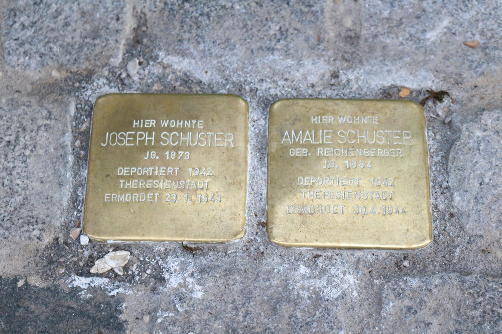 Stumbling Stones Franz-Joseph-Straße 19