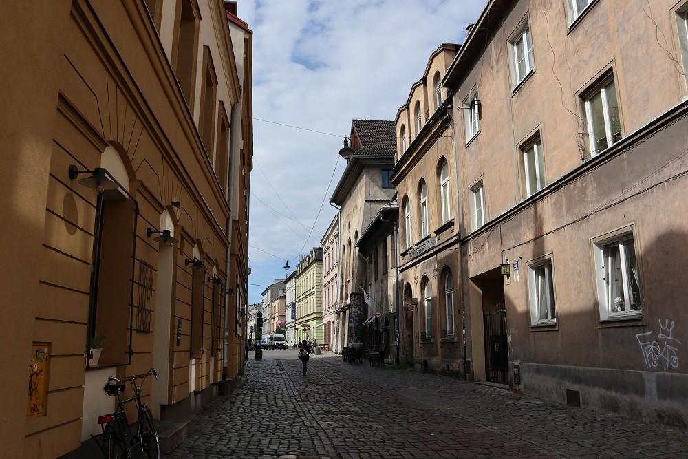 Jewish Ghetto Remaining Buildings Krakow
