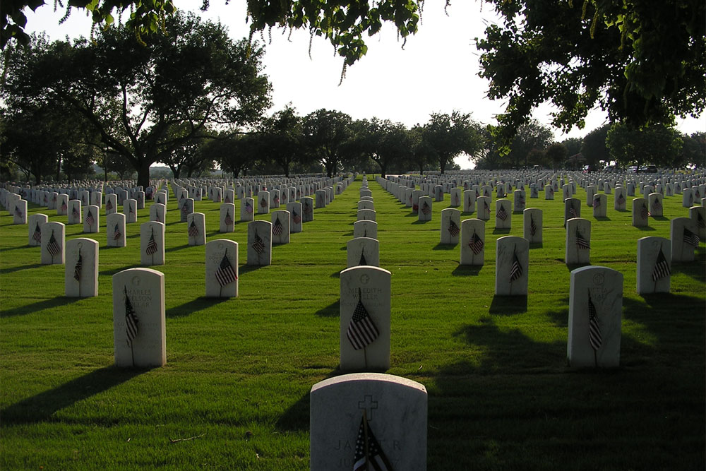 Amerikaanse Oorlogsgraven Fort Sam Houston National Cemetery
