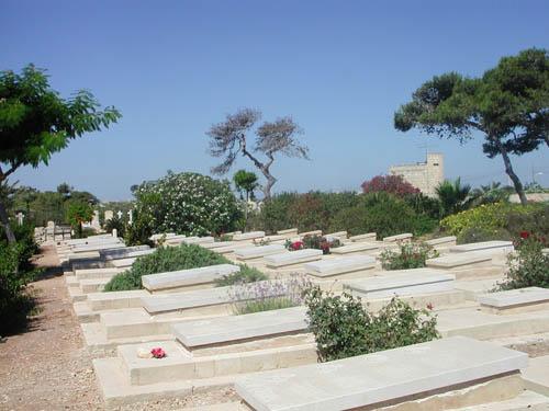 Oorlogsgraven van het Gemenebest Capuccini (Kalkara)