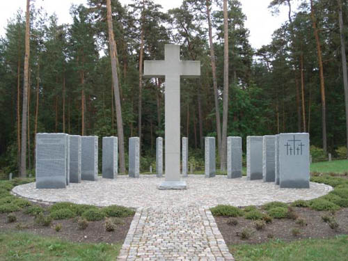 German War Cemetery Dünaburg - Daugavpils