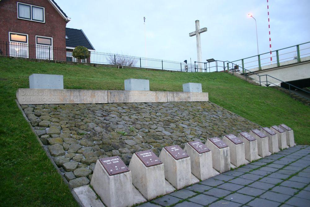Execution Monument Van Harinxmakanaal