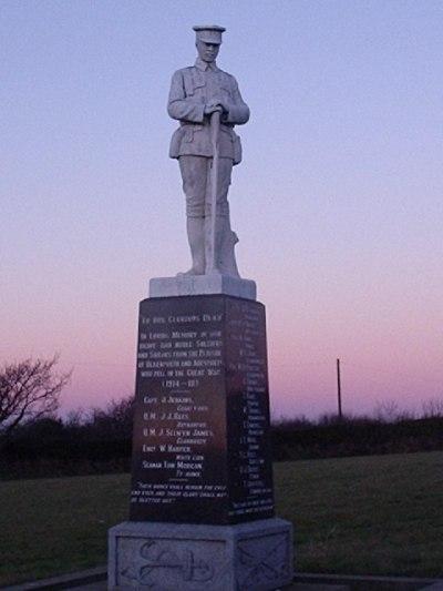 War Memorial Blaenporth and Aberporth