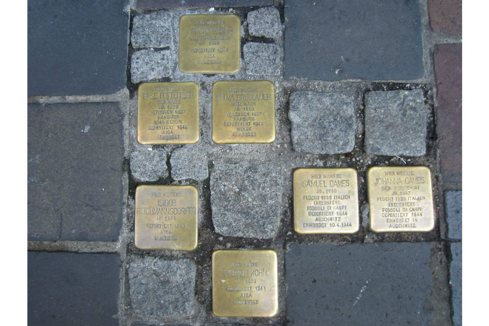Stumbling Stones Austraße 23