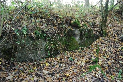 Remains German Bunker Groeneburg Wood