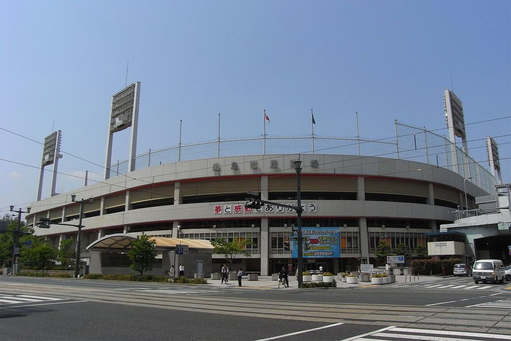Voormalige Locatie Hiroshima Gokoku Schrijn