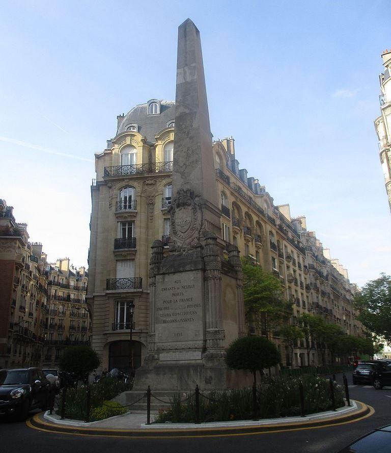 Oorlogsmonument Neuilly