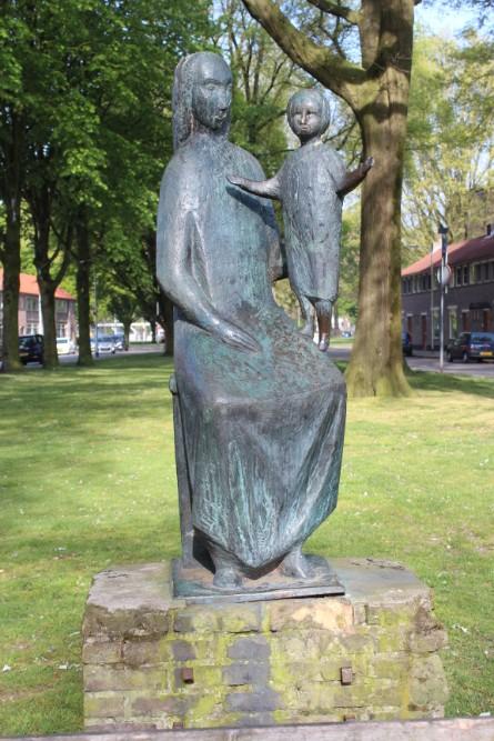 Monument Maria Rooseveltplein Tilburg