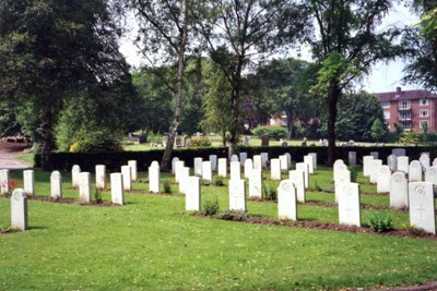 Commonwealth War Graves Wolverhampton  Borough Cemetery