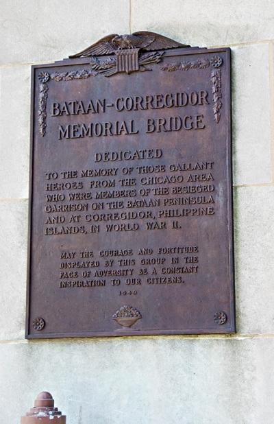 Plaque Bataan-Corregidor Memorial Bridge