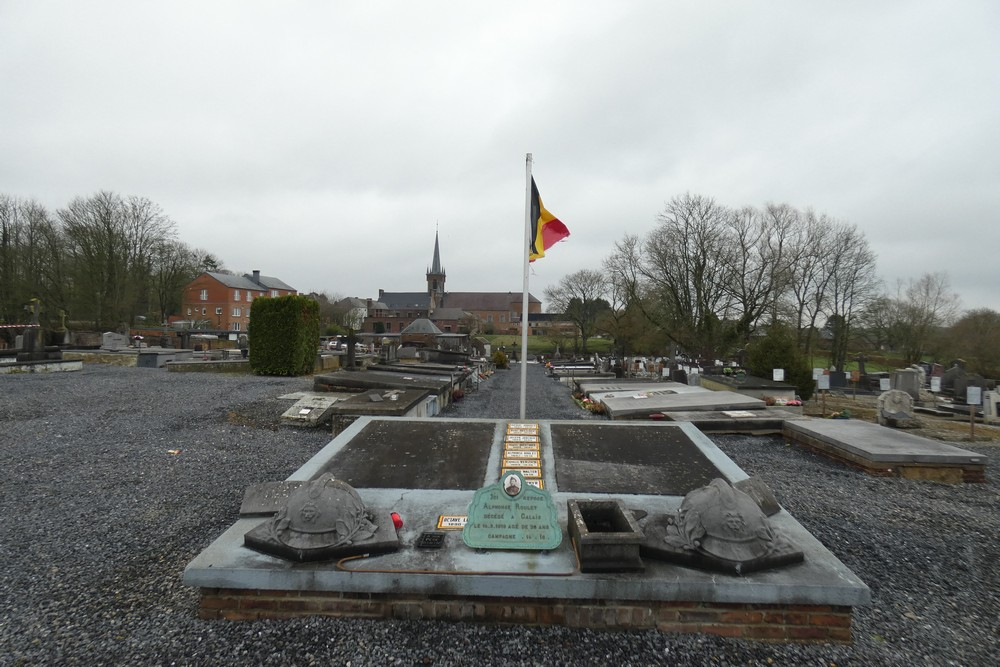 Graves War Veterans Gozée