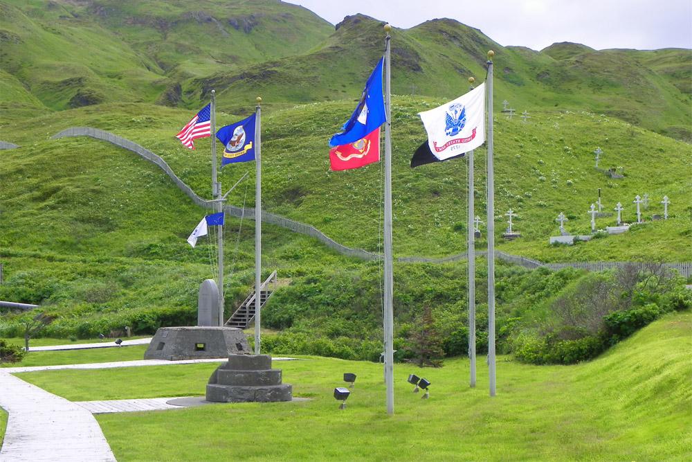 Flag Memorial Unalaska