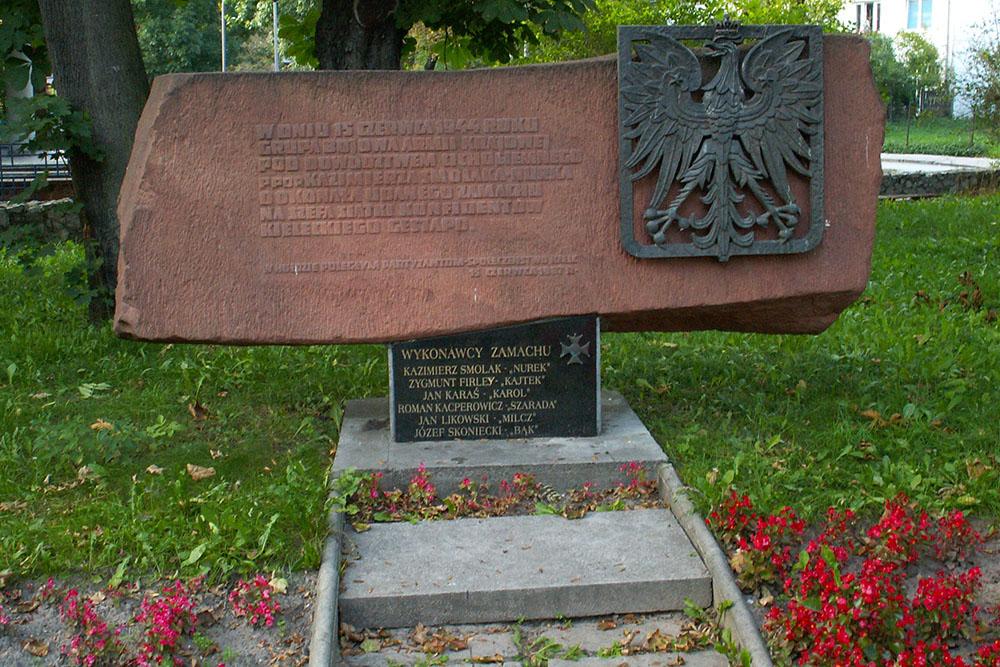 Monument Liquidatie Franz Wittek