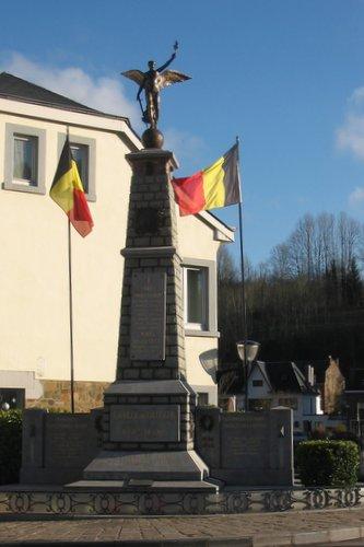 Memorial for the war victims of La Roche