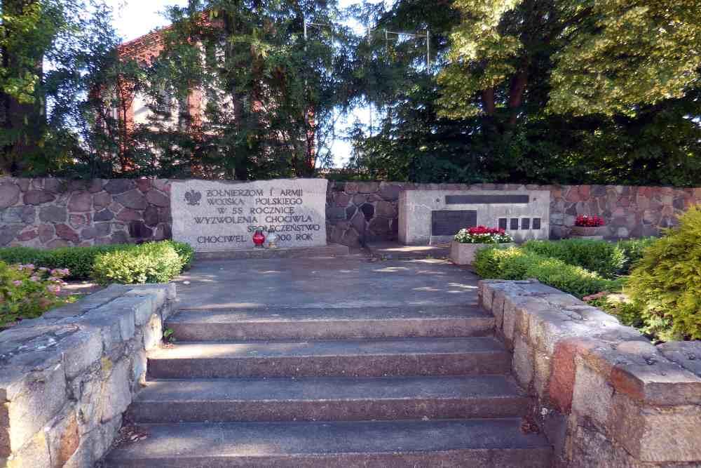 Memorial & Former Cemetery Soviet Soldiers Chociwel