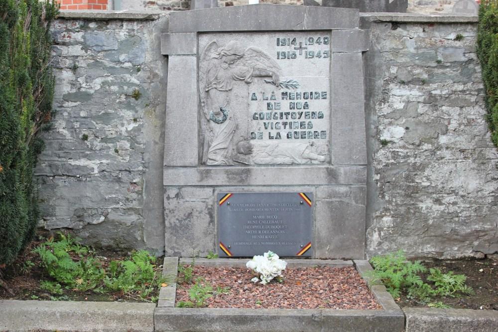 Monument Burgerslachtoffers Wattripont