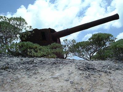 Japans 127mm Marinegeschut