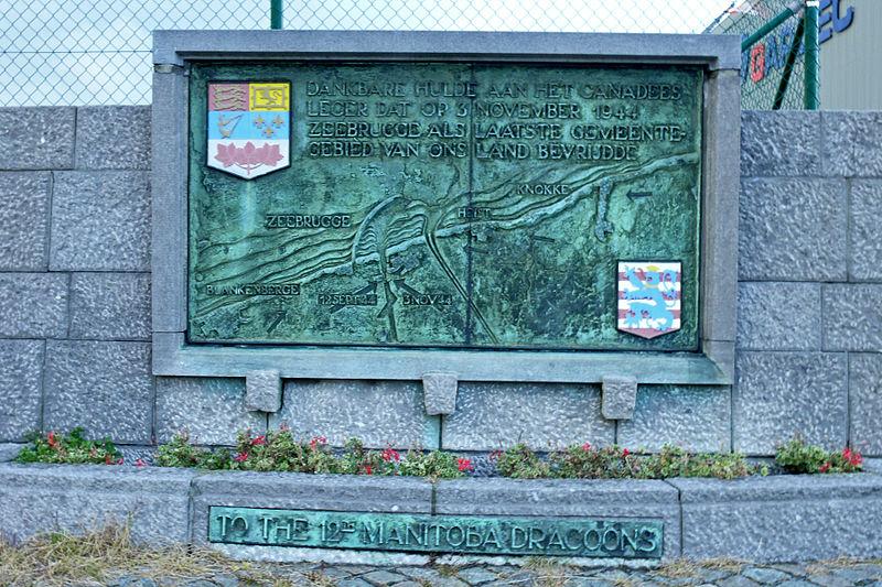 Liberation Memorial Zeebrugge