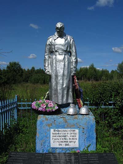 Mass Grave Soviet Soldiers Zabolot'e
