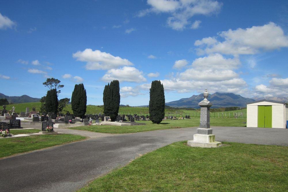 Oorlogsgraf van het Gemenebest Okato Cemetery